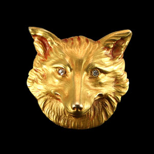 Gold Fox Mask