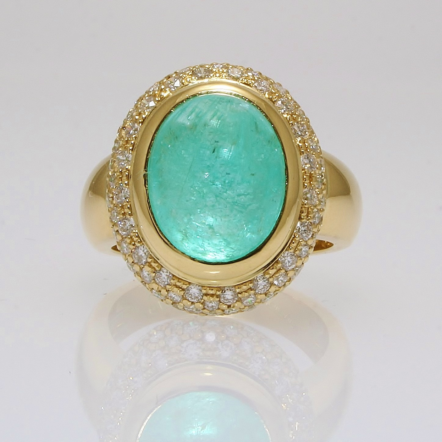 Paraiba Tourmaline Amp Diamond Ring By Furr Amp Co Furr Amp Co